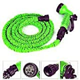 Pink Pari 50FT 15M Car Washer Expandable Magic Flexible Garden Water Hose Plastic Hoses Pipe With Spray Gun Car styling