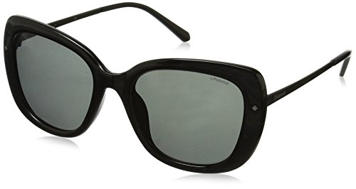 Polaroid Polarized Butterfly Women's Sunglasses - (PLD 4044/S CVS 53Y2|53|Grey Color) image