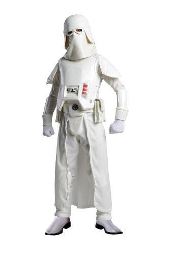 Star Wars Kinder Kostüm Snowtrooper Karneval Fasching Gr.5-7 Jahre