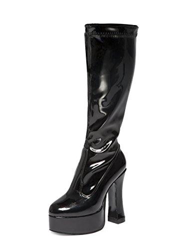 Stiefeletten  schwarz schwarz, schwarz - schwarz - Größe: 42 2/3 (Haloween Schuhe)