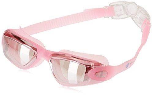 Occhialini da nuoto »Orca«, 100% protezione raggi UV + anti-appannamento. Cinturino resistente in silicone con gancio rapido + confezione rigida. QUALITÀ DELLE MIGLIORI MARCHE!  AF-1600m, fucsia
