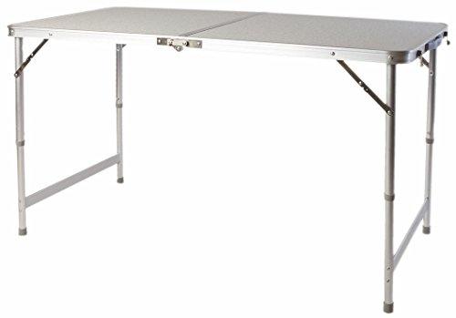 Tavoli Da Giardino In Alluminio Pieghevoli.Xxl In Alluminio Pieghevole 120 X 60 Cm Altezza Regolabile
