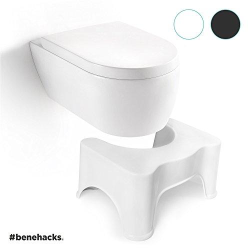 beneproducts ® Der Erleichterungshelfer - Toilettenhocker - WC Hocker