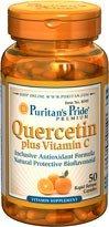 Puritan's Pride Quercetin Plus Vitamin C 50 Capsules 8049 by Puritans Pride