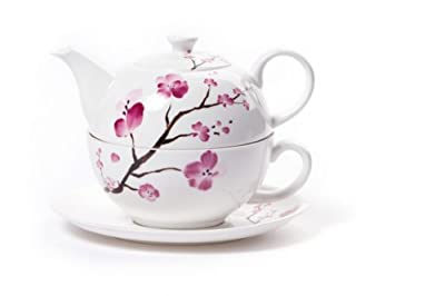 "Shamila tea for one théière ""cherry blossom"""