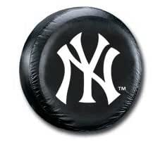 Hall of Fame Memorabilia New York Yankees Black Tire Cover - Size Large