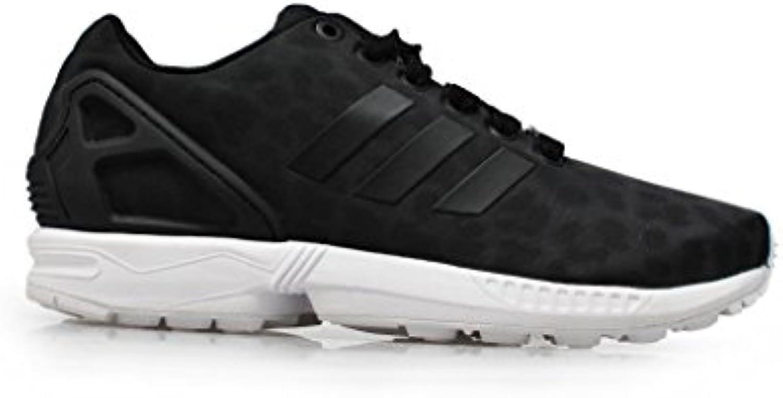 Adidas Women 's – ZX Flux W – Color Blanco y Negro