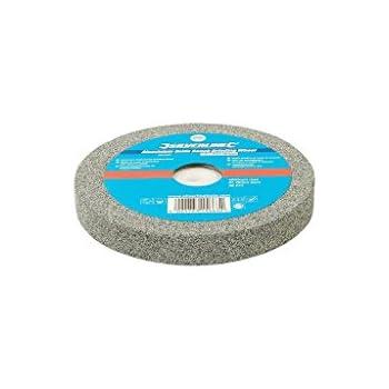 Silverline 752948 Meule en Oxyde Daluminium pour Touret /à meuler Gris