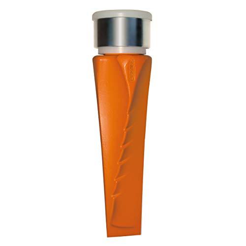 Fiskars Dreh-Spaltkeil Safe-T, Spalt Keil, Spalthammer, Gartenzubehör, Stahl, Orange, 25 cm, 1001615