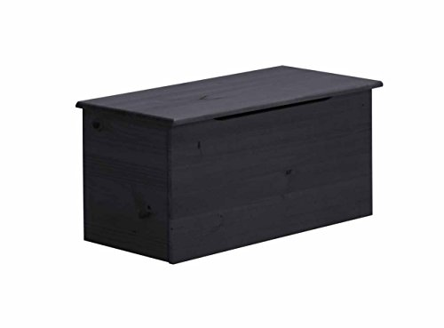 Design Vicenza Ottoman Box in, Holz, Graphit -