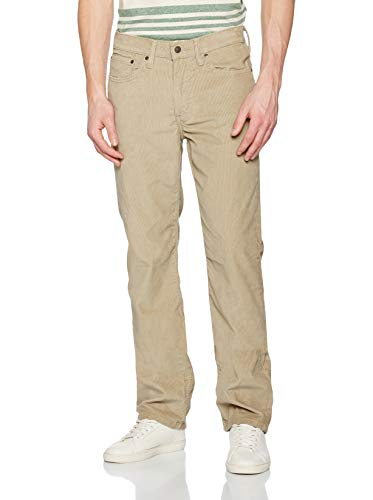 Levi's Herren 514 Regular Fit Straight Jeans, True Chino 14W Cord Wt 0834, 34W / 34L