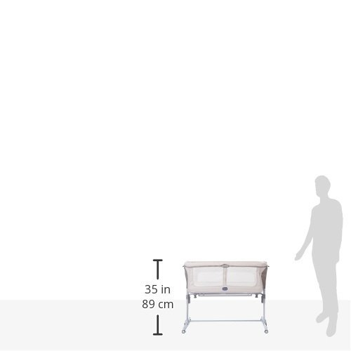 Chicco Beistellbettchen Next2Me Dream, Silber - 8