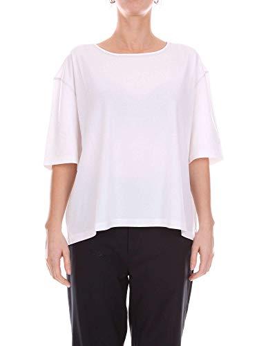 CRUCIANI T-Shirt Donna Cd21700white Cotone Bianco...