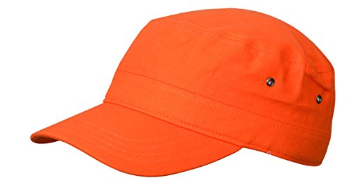 MB CAPS Herren Baseball Cap Orange Orange