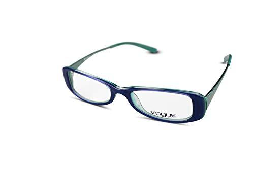Vogue Brillenfassung Damen Brille VO2393 col 1351 Blau Grün 48[] 16-140