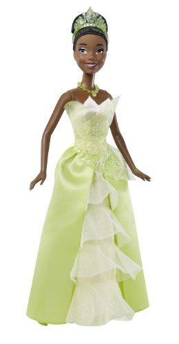 MattelT7207 - Disney Princess - Märchenglanz Prinzessin Tiana im typischen Kleid, Puppe