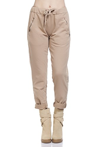 TANTRA, Pantalon de Sport Femme Beige (Camel)