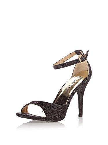 Like Style , Sandales pour femme Noir Noir 40 Noir - Noir