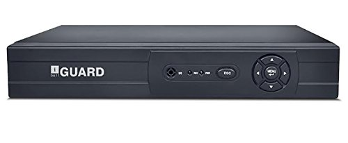 iBall 16 Channel HD sMART Hybrid DVR with H.264 Video Compression / HDMI Output / 1 X 6TB Sata HDD Supoo iB-DHDFF12M