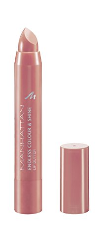 Manhattan Endless Colour & Shine Lip Butter, Lippenstift mit langanhaltendem Farbglanz in Rosé- Farbe Blushing Crush 110 (1 x 3g) - Lip Plump Color Shine