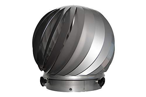 AirMaster® 24 HT Windgetriebener Ventilator für feste Brennstoffe Ø 220 mm, bis 600 °C Abgastemperatur