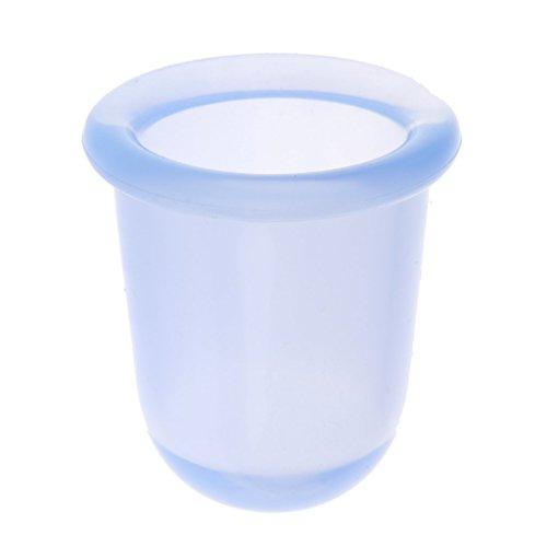 Vakuum-Therapie Silikon Schröpfen Massage Geräte Anticelulitemassage Tasse Cups - Blau, M