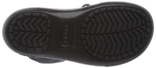 crocs Damen Crocband II.5 Lace Boot Schlupfstiefel Schwarz (Black/Charcoal)