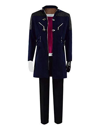 Zhangjianwangluokeji Nero Kostüm 3D Print Hoodies Zipper Jacket Adult Cosplay (Maßgeschneidert, Stil 1) Nero Jacke