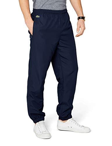 Lacoste-baumwoll Trainingshose (Lacoste Herren Relaxed Sporthose XH120T-00, Gr. M (Herstellergröße: 4) (T4), Blau (MARINE))