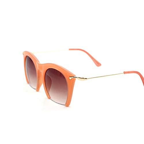 YOGER Sonnenbrillen Halbrand Sonnenbrillen Linsen Half Frame Brille Frauen Getönte Sonnenbrille Tragen Schwarz Party Sonnenbrille Metall