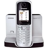 Siemens S670 Gigaset DECT-Schnurlostelefon Titanium