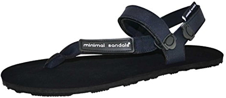 Minimal Sandals - Sandalia Huarache Vibram Deporte Correr Barefoot (46, Negro)