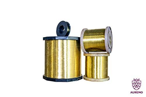 200 Meter Messingdraht 0.6mm (EN - 2.0401 Aisi - Ms58) Messingdraht Industriedrähte Basteldraht