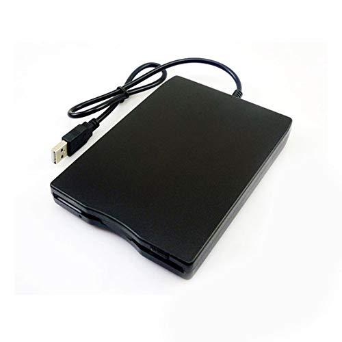 "JesseBro76 1,44 MB Diskettenlaufwerk 3,5""USB Externes Laufwerk Tragbares Diskettenlaufwerk FDD schwarz"