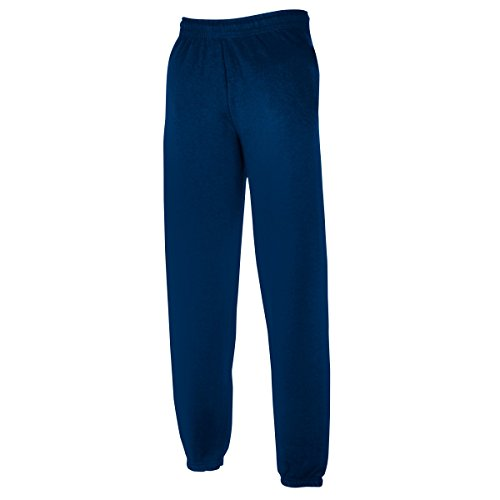 Cuff Trainingshose (Classic Elasticated Cuff Jog Pants - Farbe: Navy - Größe: XL)