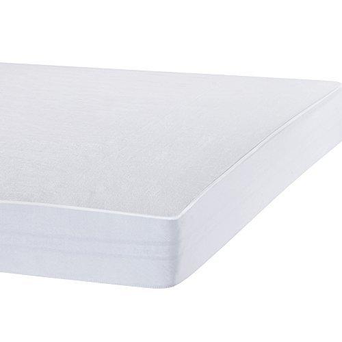 Bedecor® Matratzenschoner Wasserdicht Wasserundurchlässige Matratzenauflage Molton 90x200 cm Original OEKO-TEX®