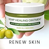 Premium Hemp Healing Skin Ointment | Natural Hemp Extract, Propolis, Virgin Olive Oil