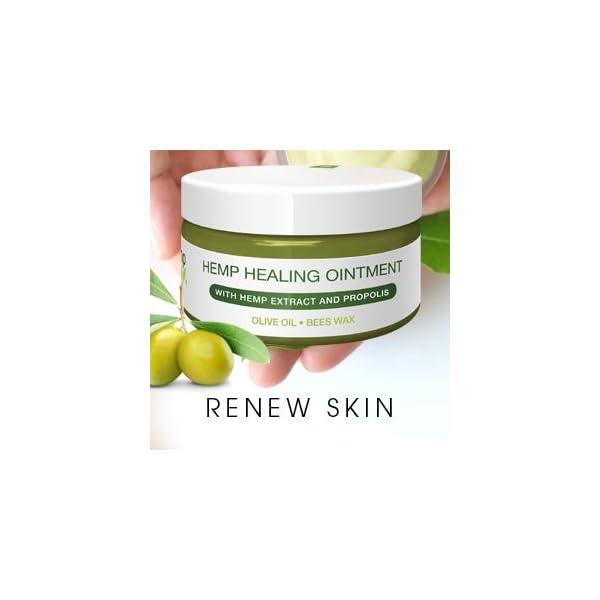 Premium Hemp Healing Skin Ointment | Natural Hemp Extract