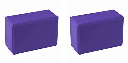BodyRip 2x blocs de yoga en mousse Violet
