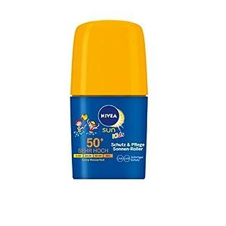 Nivea Sun Protección de los niños y el cuidado de rodillos SPF50, 2er paquete (2 x 50 ml)