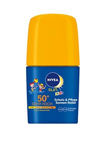 Nivea Sun Kids Schutz & Pflege Sonnencreme, Lichtschutzfaktor 50+, 2er Pack (2 x 50 ml)