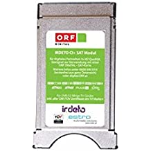 Estro ORF CAM Irdeto CI+ Modul für die grüne ORF HD ICE Karte HDTV CI plus Dual-Mode für alles LED LCD Geräte