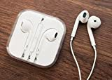 Auriculares originales de Apple iPhone 5, 5S, 5C, 6 Plus, 6S, 6S Plus, iPad Air 4 5 6, iPad 1 2 3 4, MD827ZM/A MD827, blanco