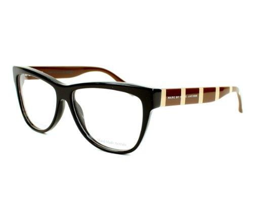 Marc by Marc Jacobs Montures de lunettes 531 Pour Femme Black / Orange Fluo Noir - marron