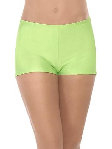 Grün Neon Panties Panty Hotpants Hipster Junggesellinnenabschied Slip s23366