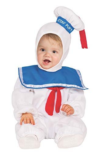 Kinder Kostüm Slimer - Stay Puft EZ-ON Romper 2T