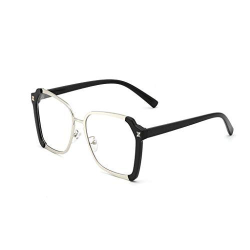 YIWU Brillen Brille weiblich gelbe Sonnenbrille Retro Sonnenbrille Hipster Night Vision Goggles Brillen & Zubehör (Color : 1)