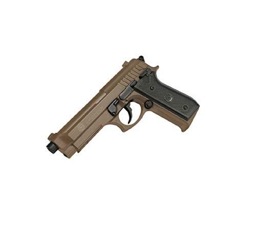 Cybergun Pistolet Taurus PT92 / M9 à Ressort culasse métal de couleur Désert Systéme Bax 0.5 Joules