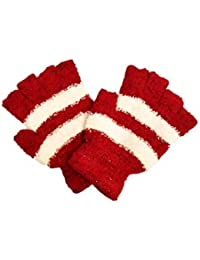 f990484f6b6 Itra Womens Colorfull Finger Cut Woolen Gloves (Pack Of One)
