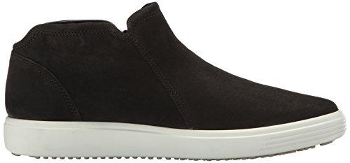 Ecco Damen Soft 7 Ladies Hohe Sneaker Schwarz (Black/Powder)